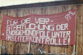 Kaiseraugst - occupation avril 1975 - banderole RML