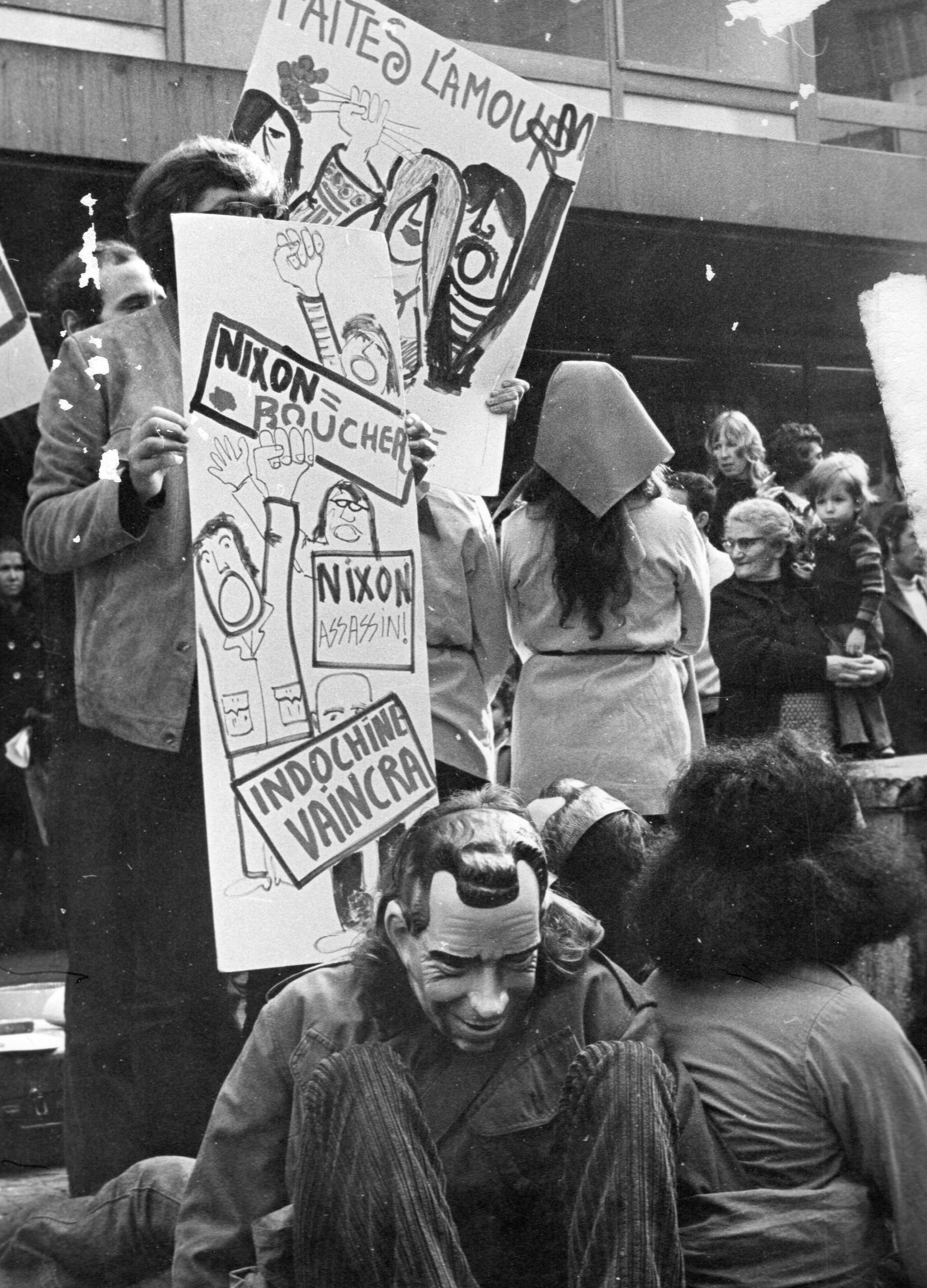 étudiants gauchistes mai 68 a besançon