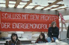 Kaiseraugst - occupation avril 1975 - stand RML